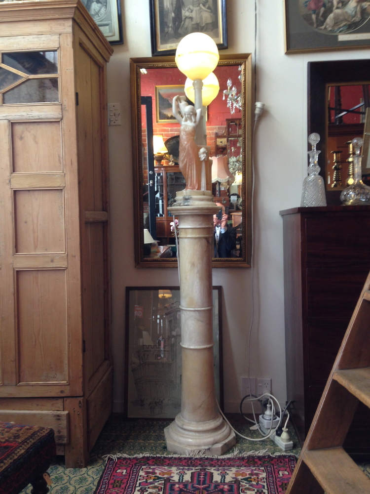 16A LAMP ON PLINTH $5400