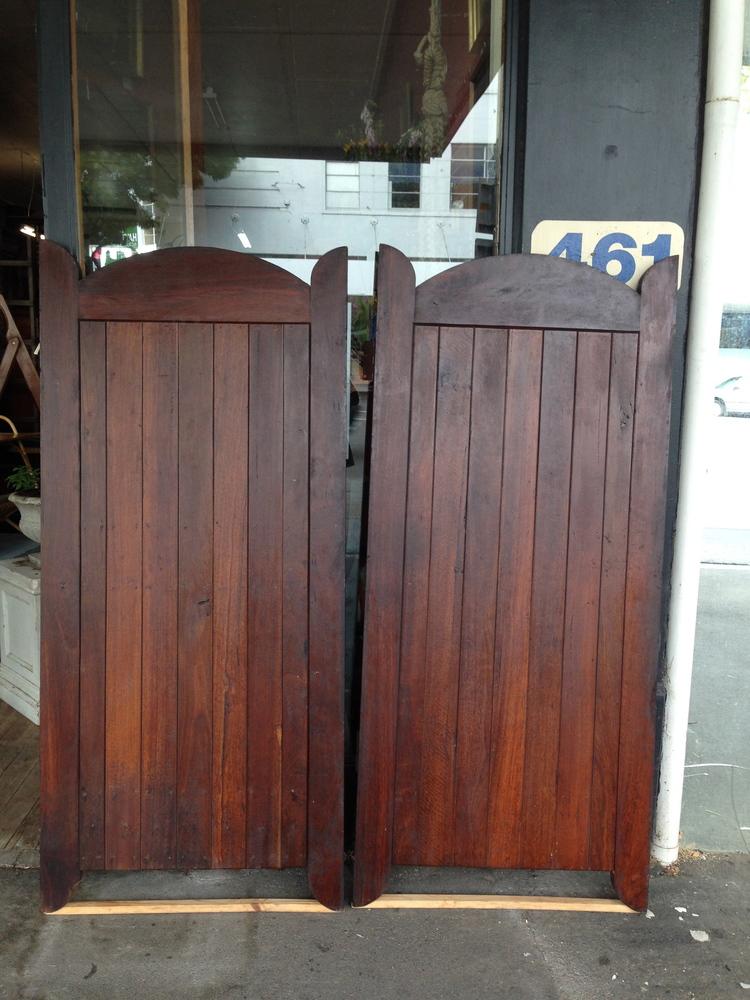 61 JARRAH HARDWOOD GATES $600