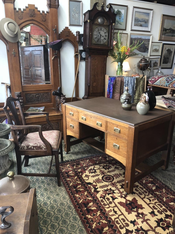 93. Oak Desk