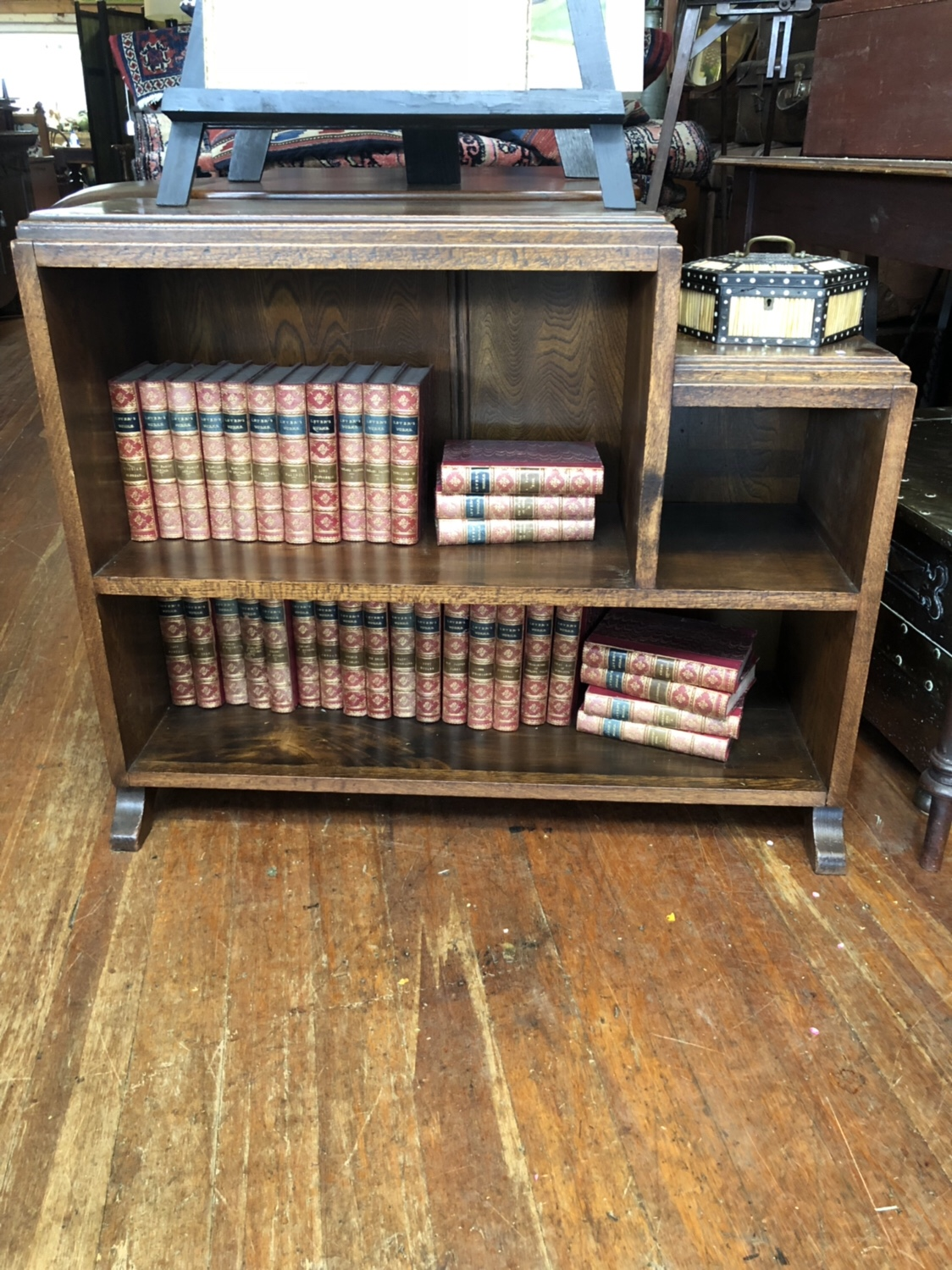 113. Oak Bookcase