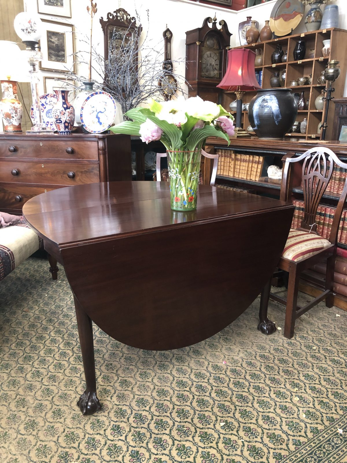 148b Mahogany Table