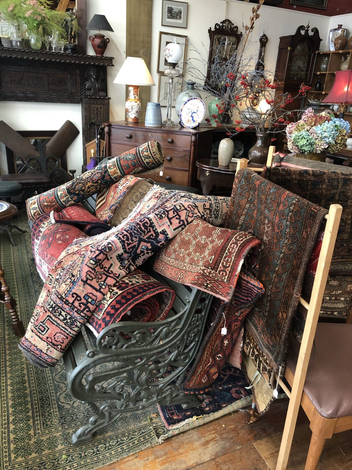 168. Hand Knotted Rugs
