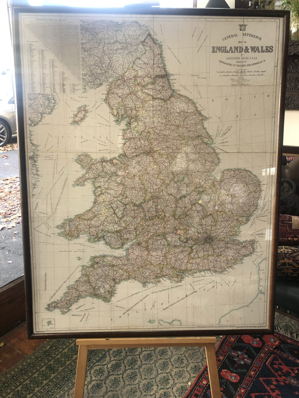 161. Map of England and Wales.
