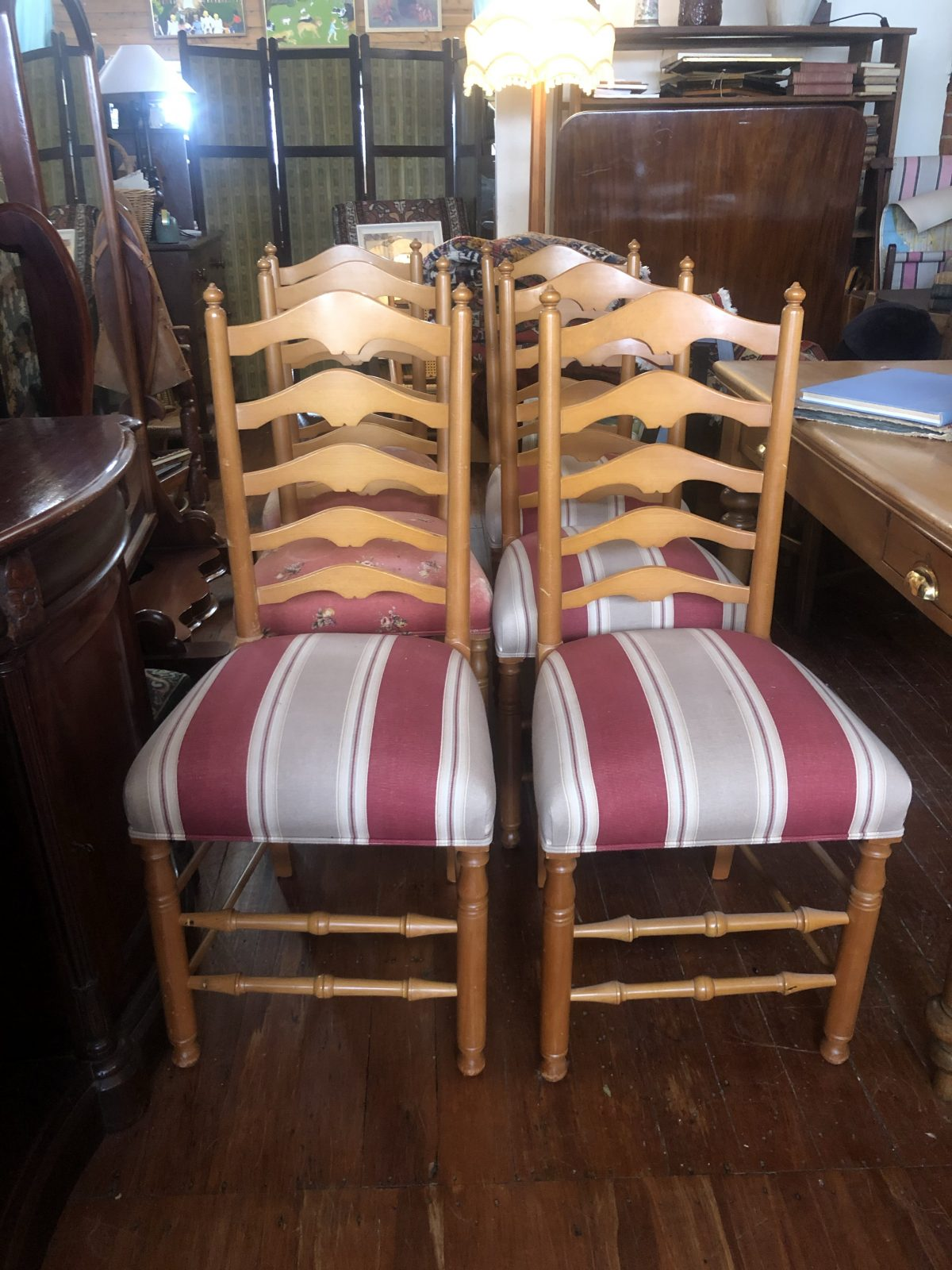 192. Ladder Back Chairs