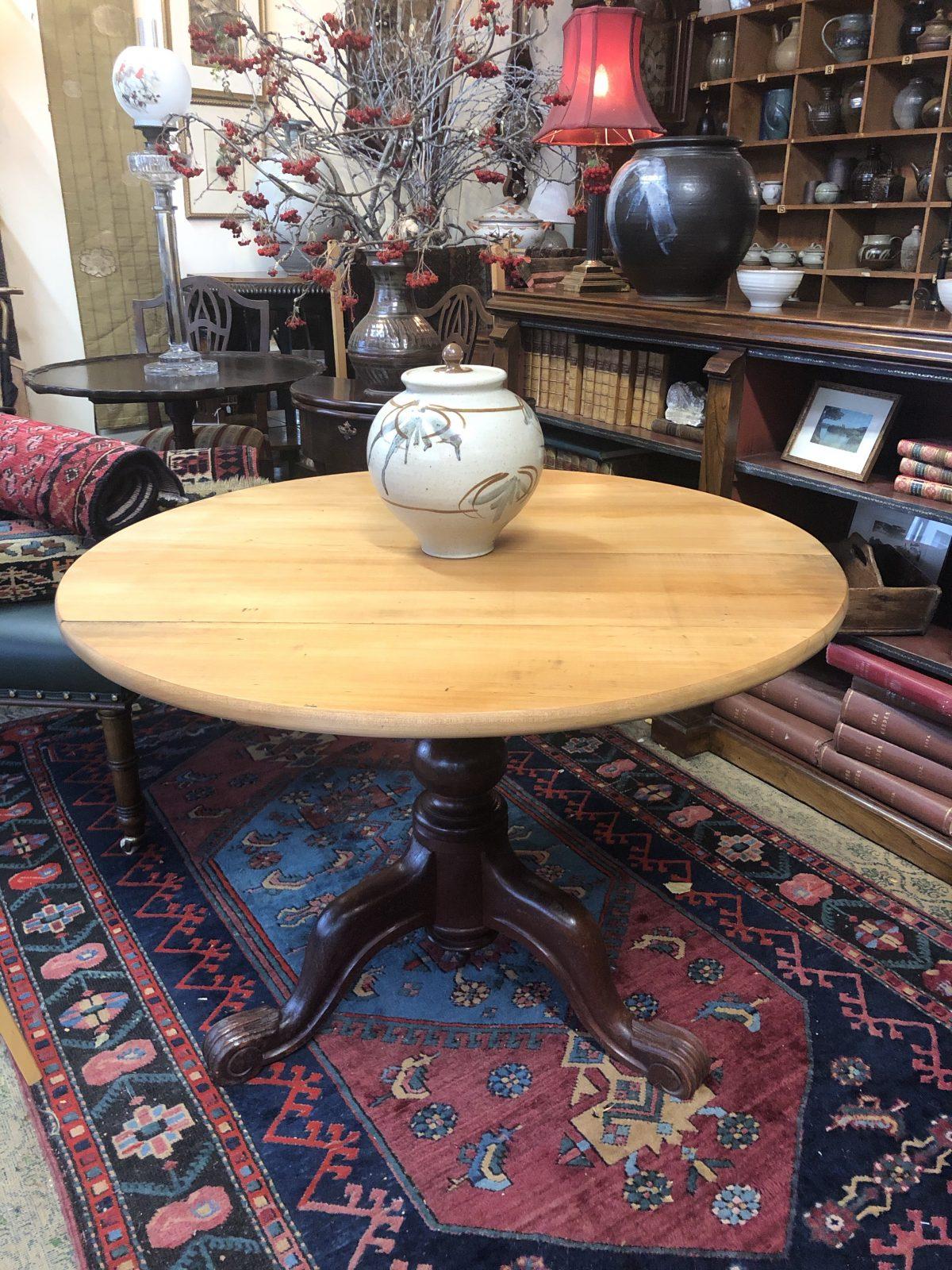 196. Colonial Kauri Table.