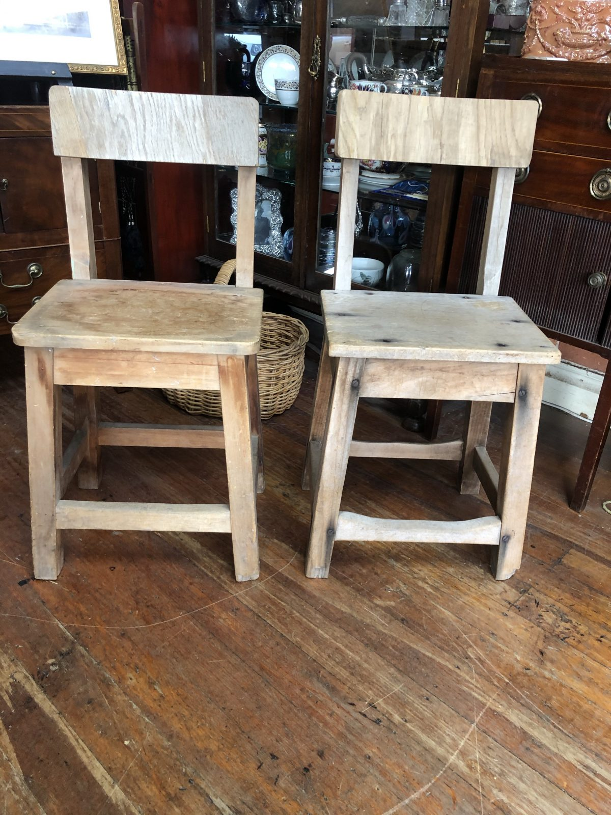 201. Colonial Stools